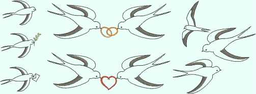 embroidery design swallow