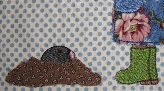 embroidery design little gardener