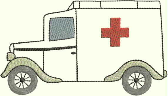 """embroidery design """"red cross"""""""