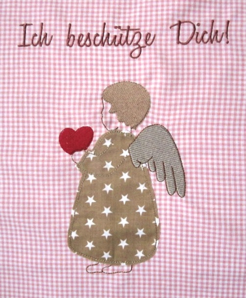 Stickdatei Engelkind embroidery design little angel